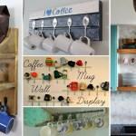35 Unique And Creative Diy Coffee Mugs Storage Ideas Citchen
