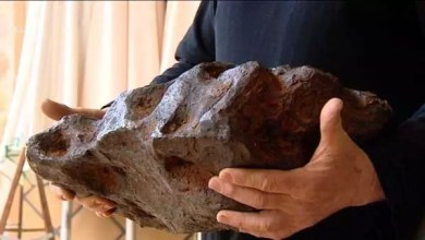 Photo of Científicos descubren extraño mineral dentro de meteorito