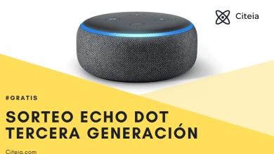 Photo of Altavoz Echo dot 3ra generacion.