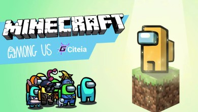 Photo of Pack de texturas de MINECRAFT para Among us