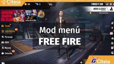 Free Fire Mod menu