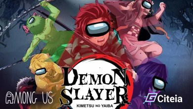 Mod Demon Slayer Para Among us portada de artículo