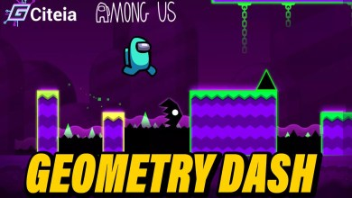 Geometry Dash mod Among us