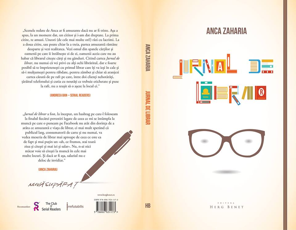 Jurnal de Librar – Anca Zaharia