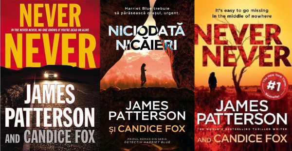 Niciodata nicaieri (Never Never) - James Patterson & Candice Fox