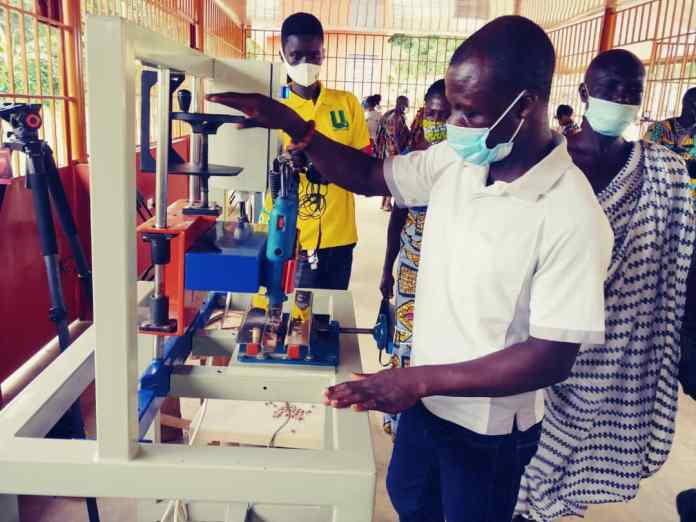 GEPA opens workshop facility for Abompe Bauxite Bead Makers in Fanteakwa District 2