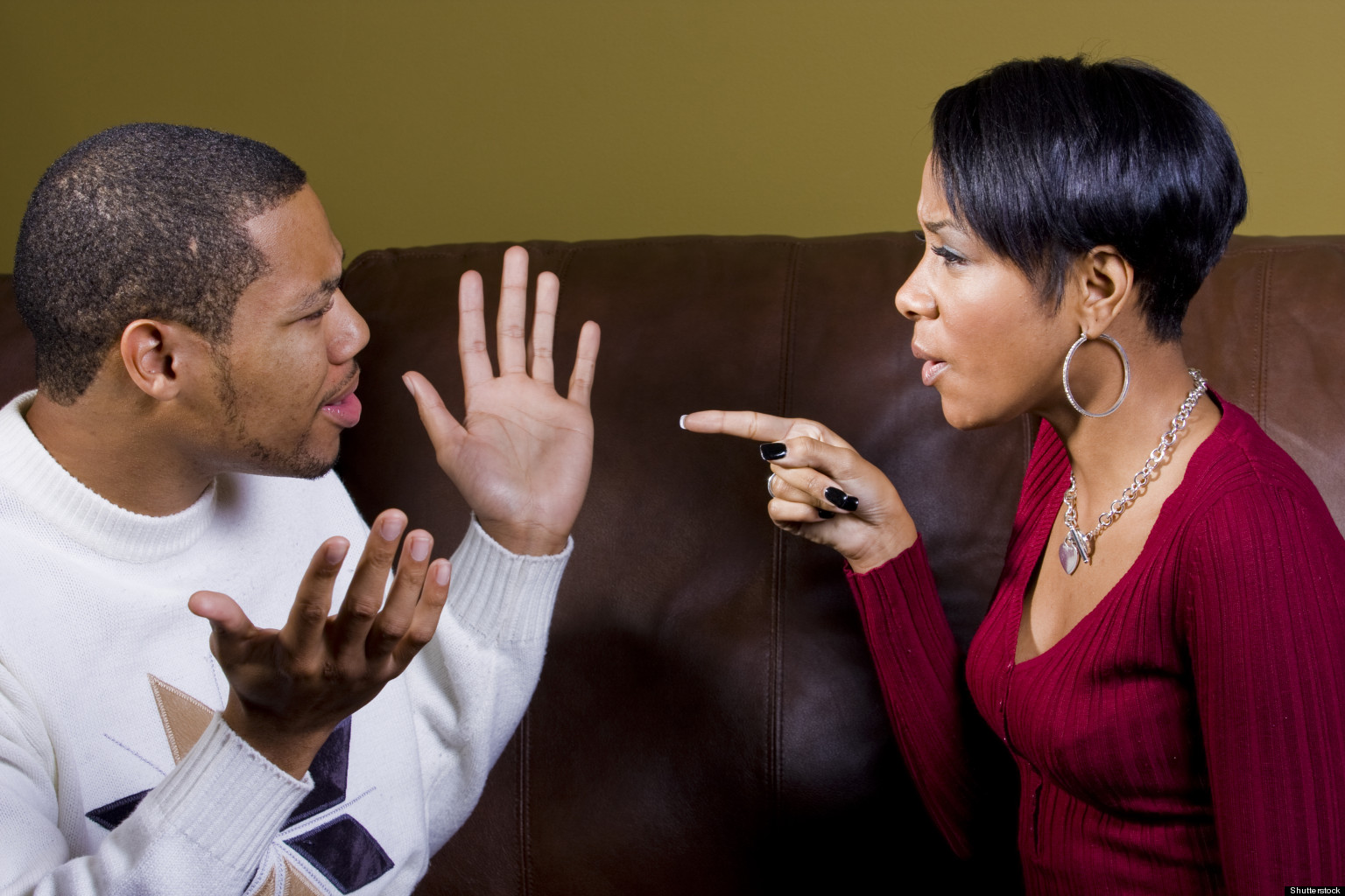 Arguing With Your Spouse Could Make You Fat