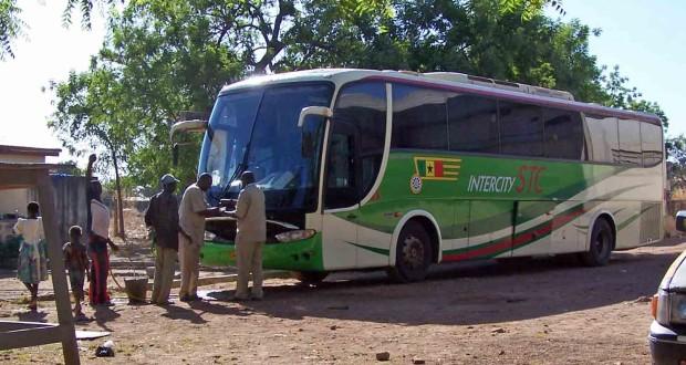 An inter-city STC bus