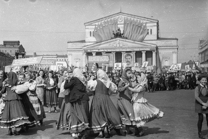 Весна в СССР