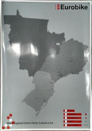 Mapa Personalizado do Brasil