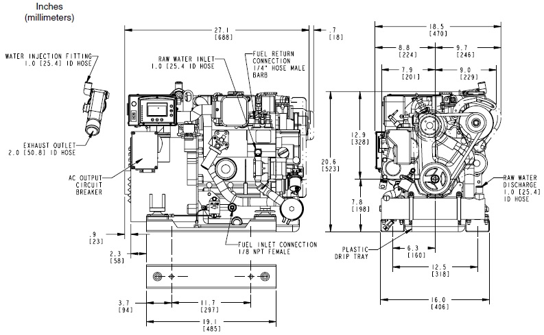 Wiring Diagram: 33 Kohler 5e Marine Generator Parts Diagram