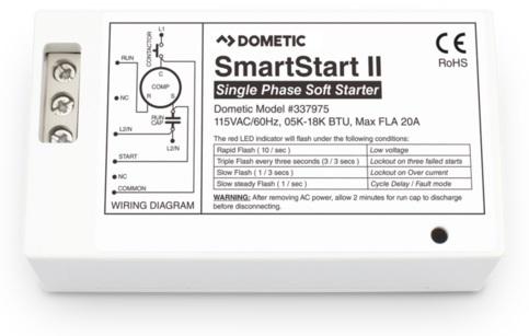 wiring diagrams · dometic smartstart ii smart start reduces startup  surge by 60 +