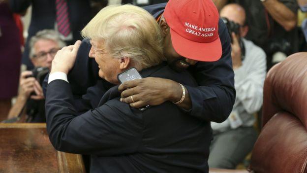 Kanye West says Trump hat 'made me feel like Superman'