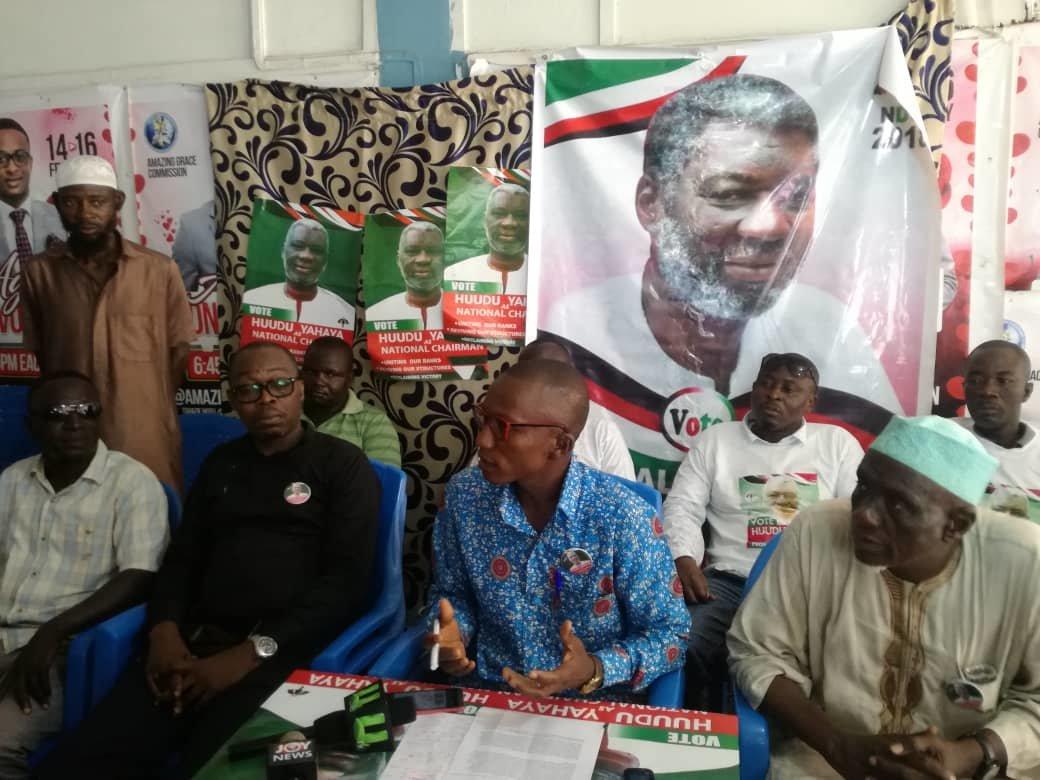 NDC Youth Coalition endorses Hudu Yahaya for National Chairman