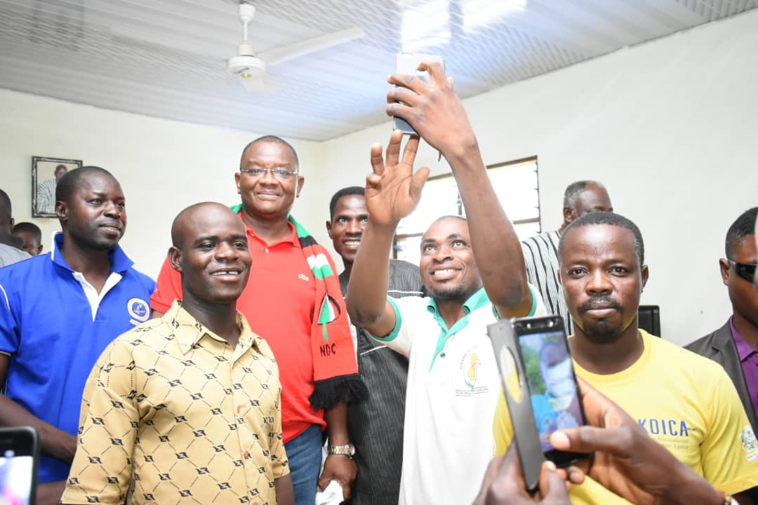 TeamSly meets Tempane NDC Constituency and branch executives