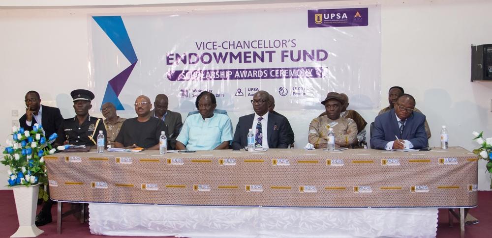 UPSA Vice Chancellor's endowment fund awards scholarship to 20 students