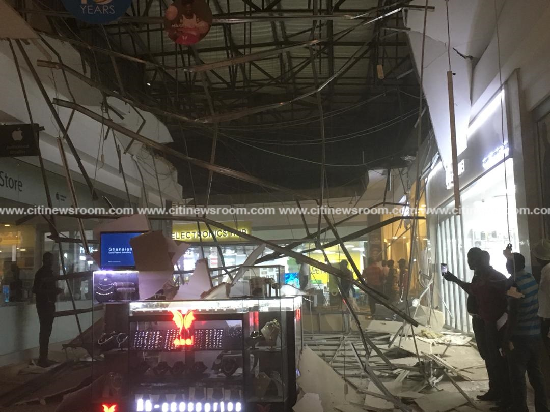 Three injured in Accra Mall ceiling collapse – NADMO
