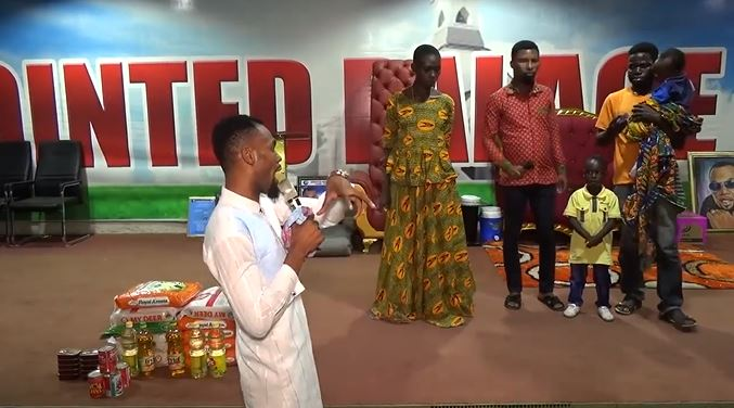 Rev. Obofour to support family of woman with 'strange swollen legs'