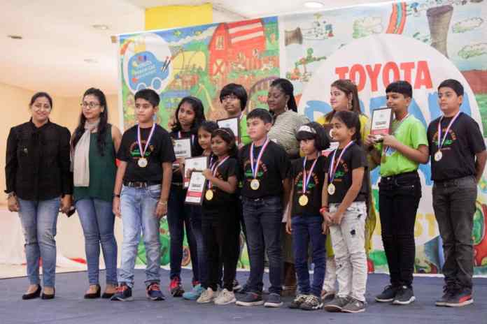 DPS International grabs 26 medals in Toyota Dream Car Art Contest 7