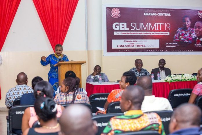 Embrace Challenges of Great Leadership – Joyce Aryee to Central University Students 2