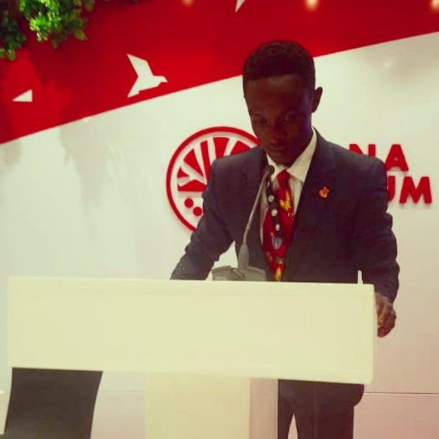 UCC student honoured at 8th high-level forum on security in Africa in Ethiopia 5