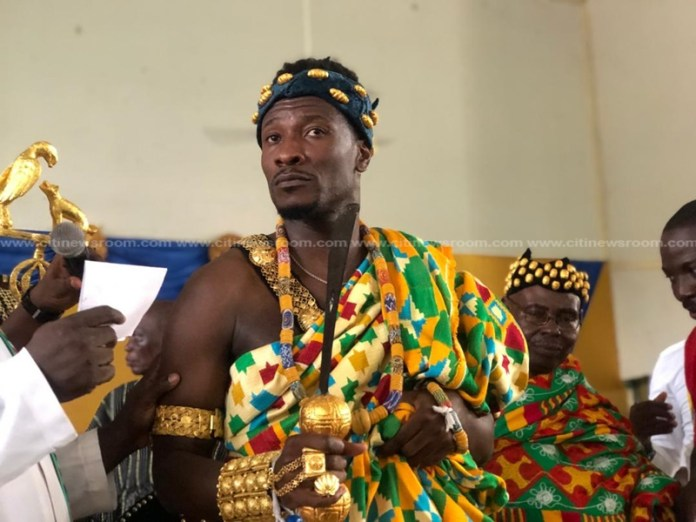 Asamoah Gyan installed as 'kind-hearted, progressive chief' of Hohoe after saving FRANCO Water Crisis 1