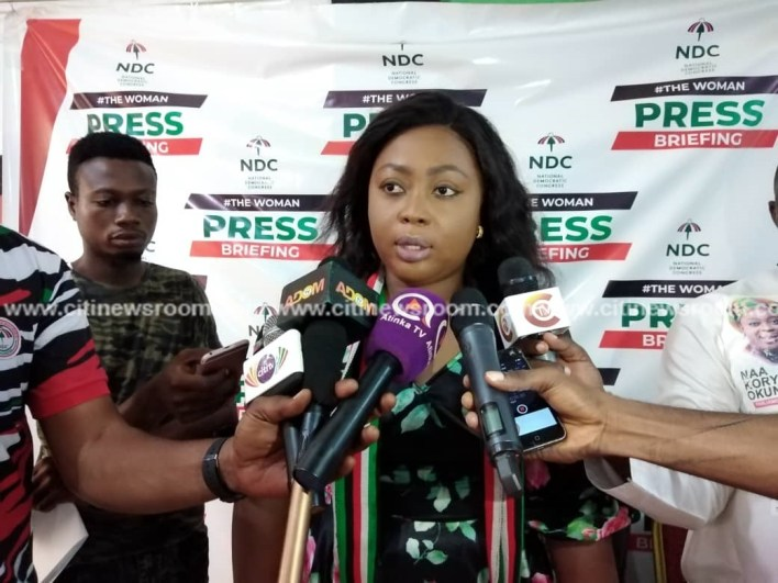 Awutu Senya East: NDC's Naa Koryoo presents motorbikes to victims of shooting incident 2