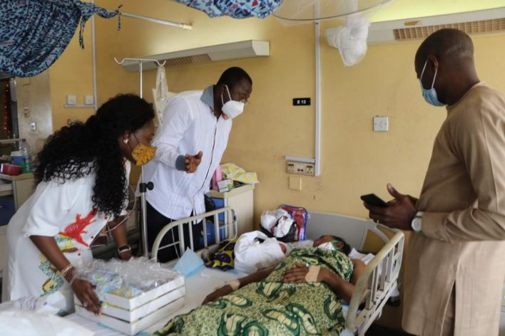 Asante Bediatuo's family donates to Korle-Bu Teaching Hospital maternity ward 5