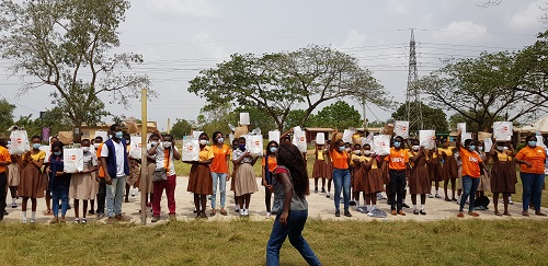 ABF, YLFP-UNFPA donate to Odumse Basic School 3