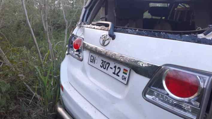 4 in critical condition after a car crash at Gomoa Okyereko 2
