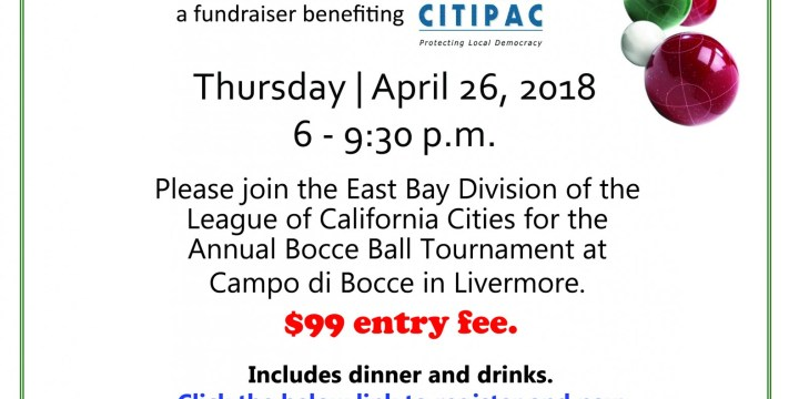 East Bay Division Bocce Ball Tournament