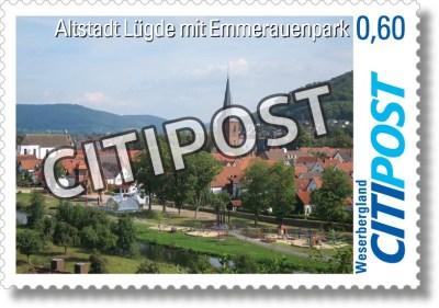 CITIPost Weserbergland - Lügde - Einzelmarken