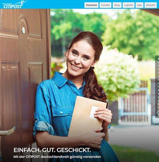 Neue Webseite mit Online-Shop