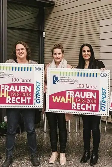100 Jahre Frauenwahlrecht – Sonderbriefmarke