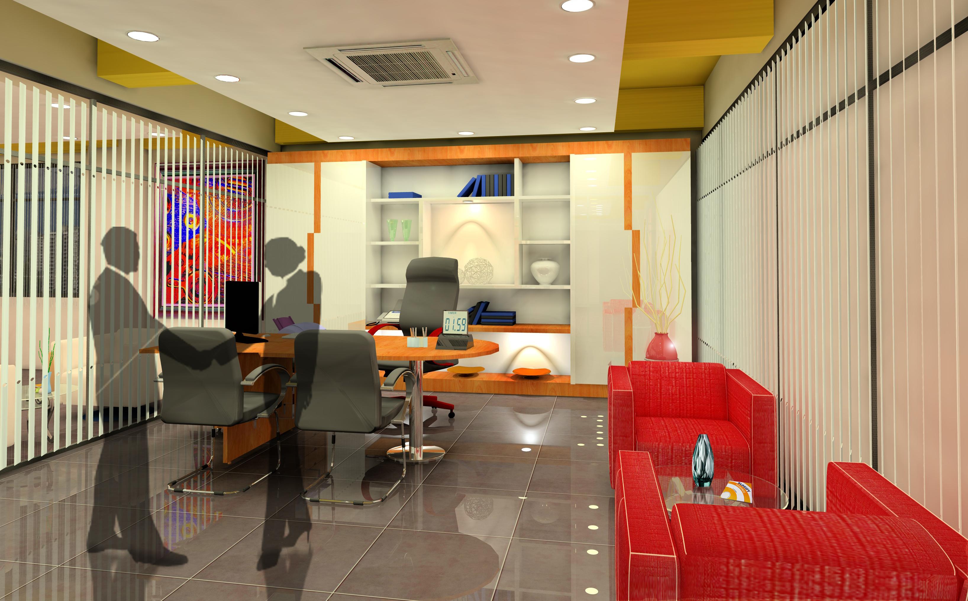 Office 3D Rendering  CITIREKA