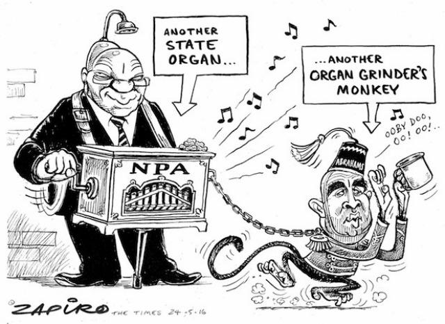 Is Zapiro a racist?