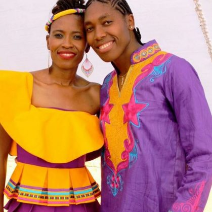 Caster Semenya: My wife thought I was a boy when we met