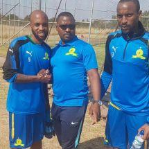 Oupa Manyisa Training With Sundowns Citizen