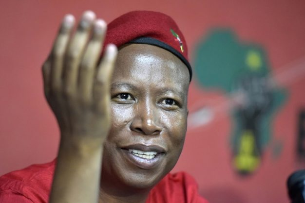 Malema says EFF won't tolerate 'rubbish' like dog walking during 21-day lockdown