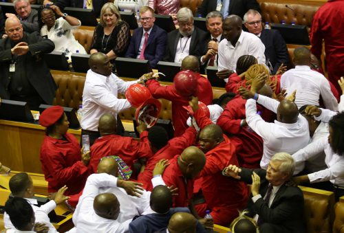 Parly gears up for 'fight club' as EFF issues challenge