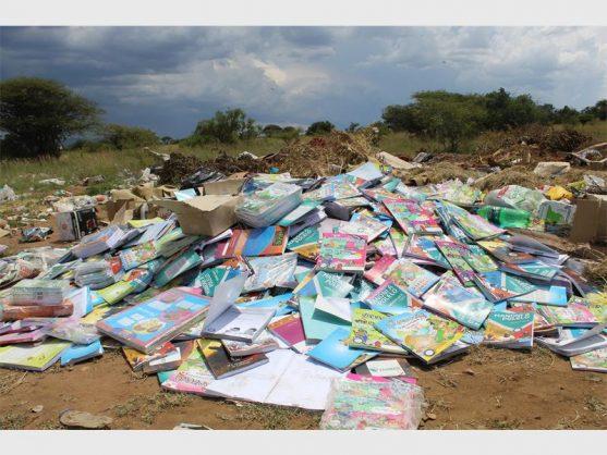 Hundreds of new textbooks dumped in Polokwane suburb