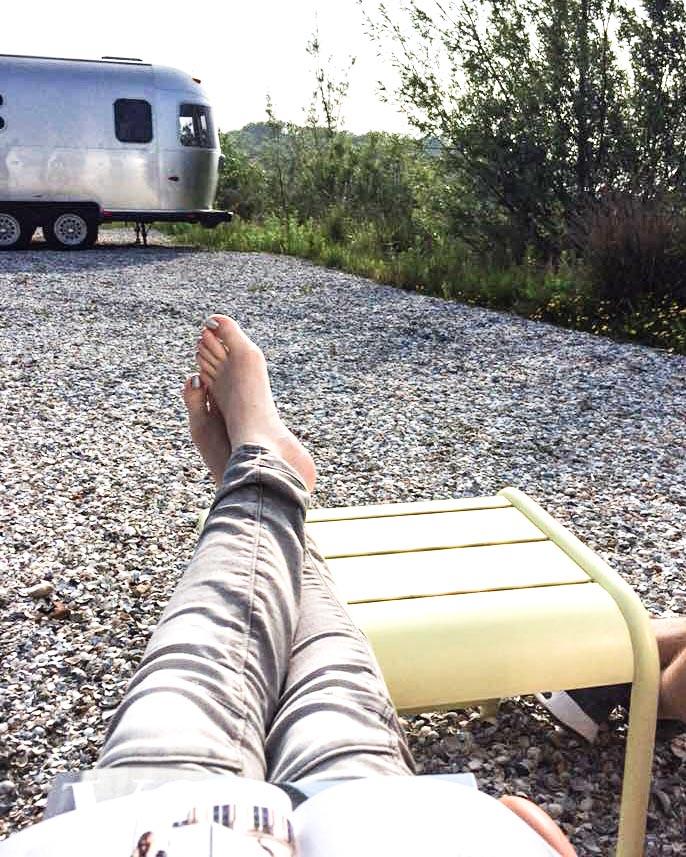Camp silver buiten