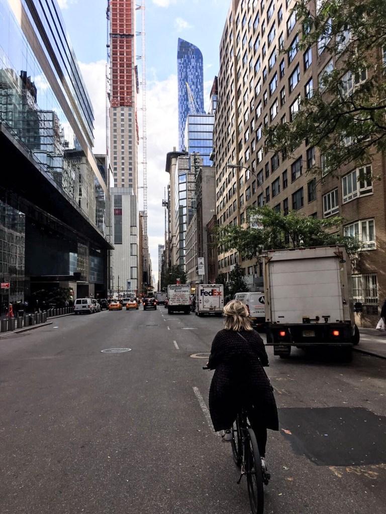 New York interview Sabrina Visual voor vakantie flow van Citizen of