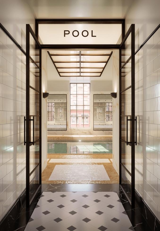 Corcoran pool