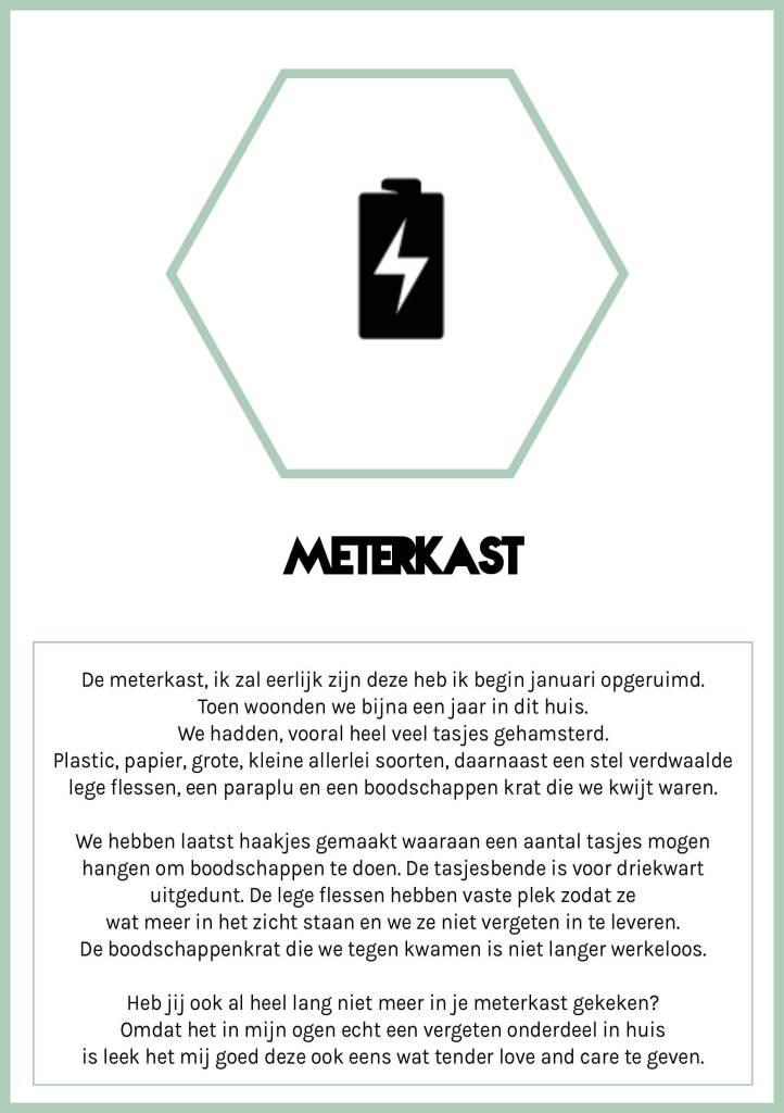 Meterkast opruim uitdaging Spring Challenge 2020 Citizen of