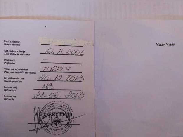 Dokument i falsifikuar