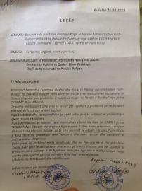 Kerkesa e banoreve per mos lejimin e prerjes se pyjeve drejtuar disa institucioneve (2)