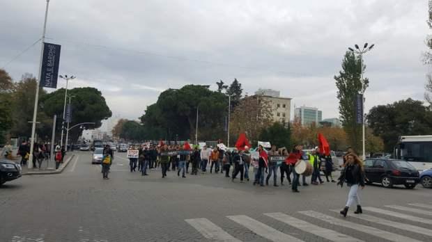 Protestuesit ne Bulevard