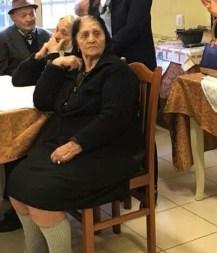 Vangjelica Gjyshi në ambjentet e shtëpisë për të moshuarit. Foto: E.K / Citizens Channel