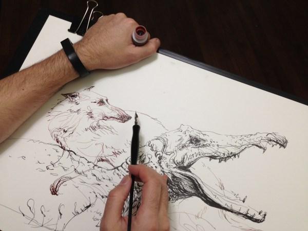 Easy Ink Pen Drawings
